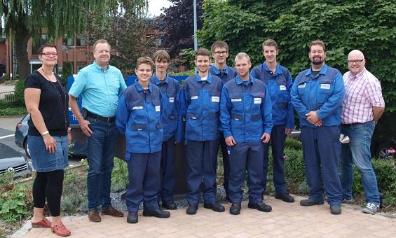 Berufsausbildung 2017 gestartet - Wurst Stahlbau